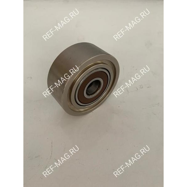 Ролик натяжителя, гладкий,  металл, SL/SLX, RI-78-1547А