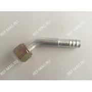 Фитинг соединительный, под обжимку, аллюминий, гайка-сталь 5/8, 45 гр., RC-U0711