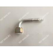 Фитинг соединительный под обжимку, аллюминий, гайка-сталь 1/2, 90 гр., RC-U0718
