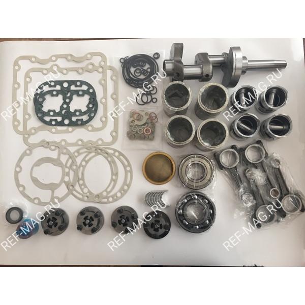 Ремонтный комплект  компрессора  Х430-404 с валом, для R404A, RI-10-X430C-404