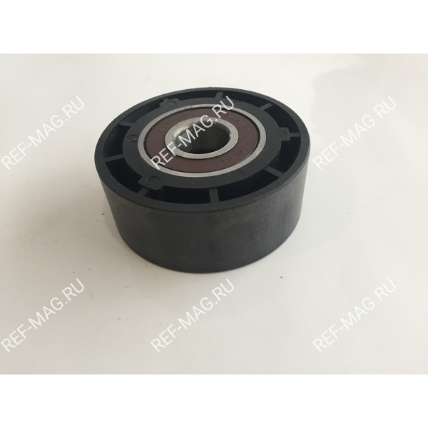 Ролик натяжителя, гладкий,  пластик, SL, RI-77-2937A