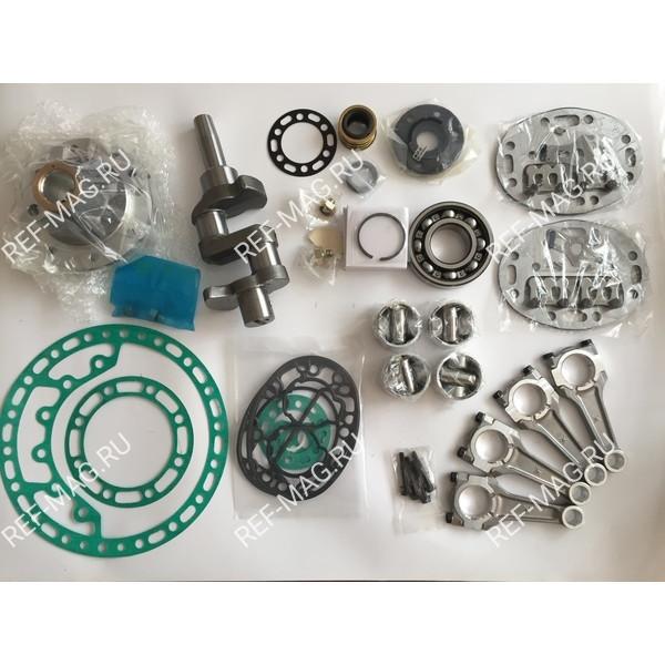 Ремонтный комплект  компрессора 05K, (поршень 1 ремонт +0,5 мм), R-05K 4Cyl Truck Kit 1 ремонт
